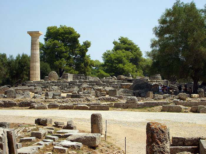 Temple of Zeus at Olympia