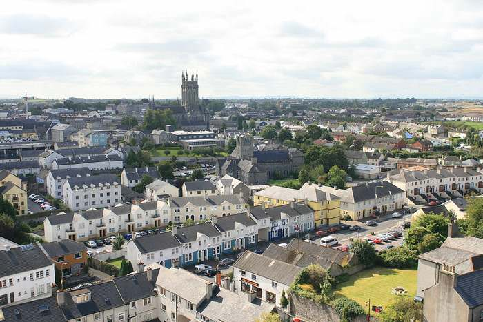 Kilkenny view from the round tower