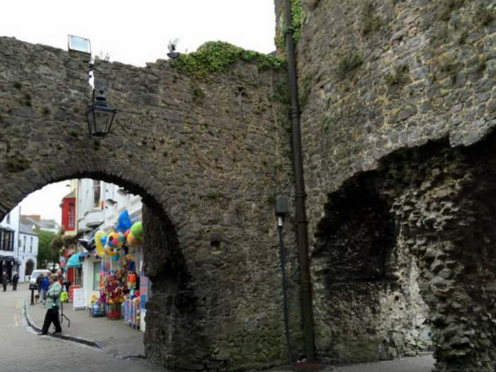 one of the entrances to old town Tenby.