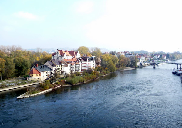 Regensburg , a stop along a river cruise for seniors