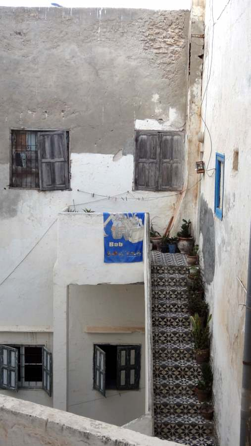 A typical home in the Medina of Essaouira