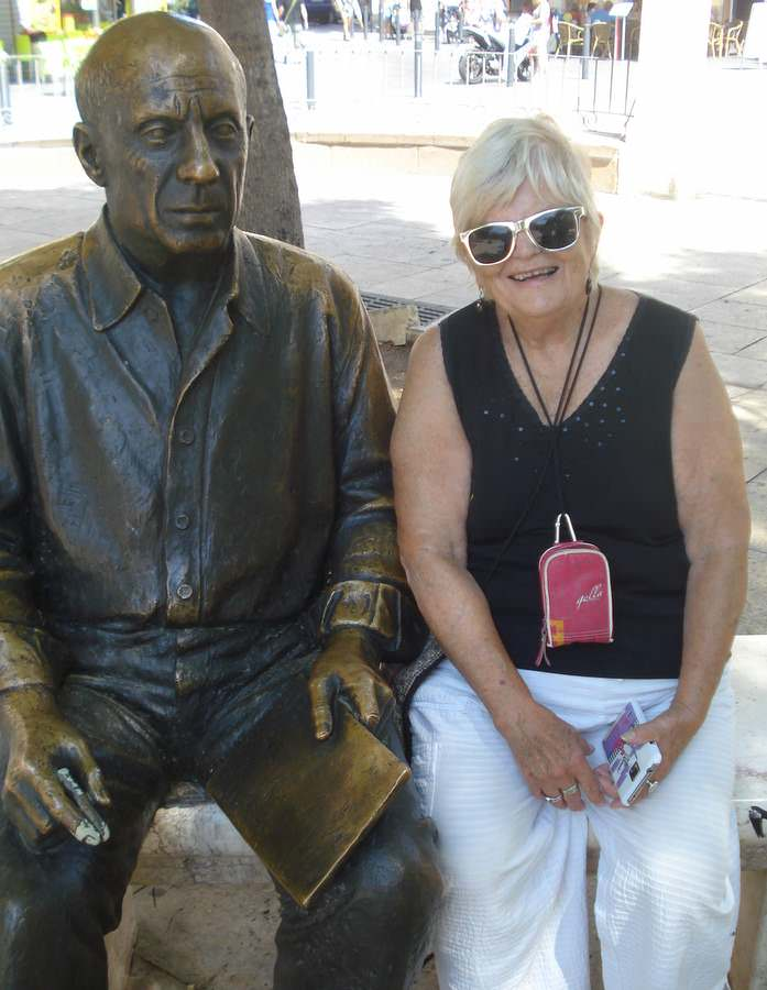 Pablo and Ruth in Malaga