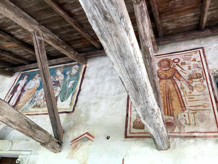 Frescoes from the Pieve Romanica in San Pietro di Feletto