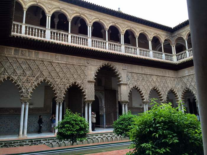 Interior of the Real Alcazar Sevilla
