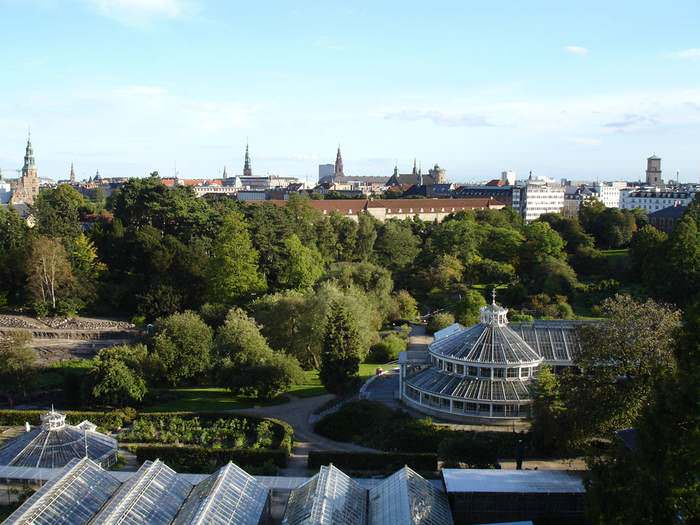 the Botanical Garden in Copenhagen