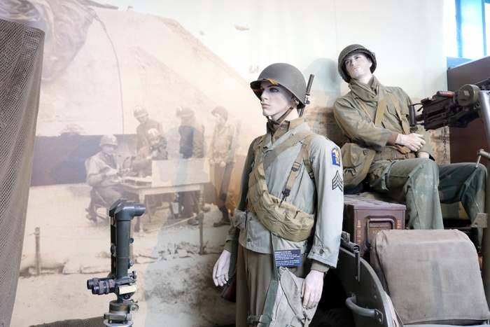 D-Day museum at Arromanches in Normandy