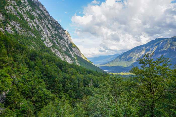 Julian Alps in Bohinj