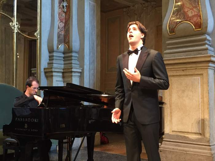 Elisir d'Amor done in recital form at the Brescia Opera festival