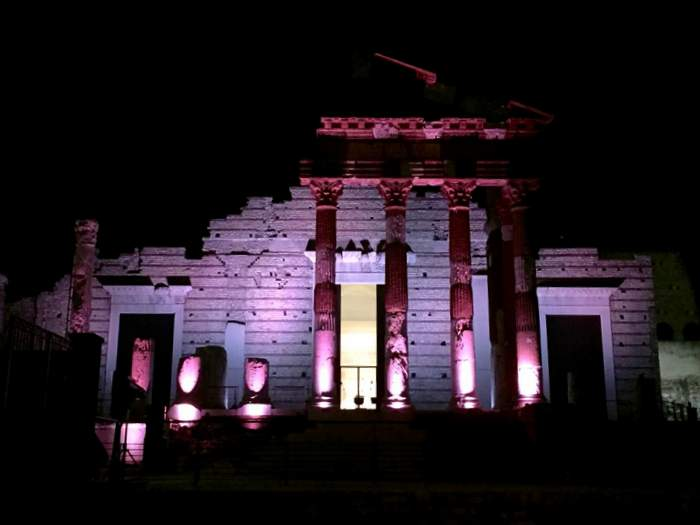The Capitoline Temple in Brescia
