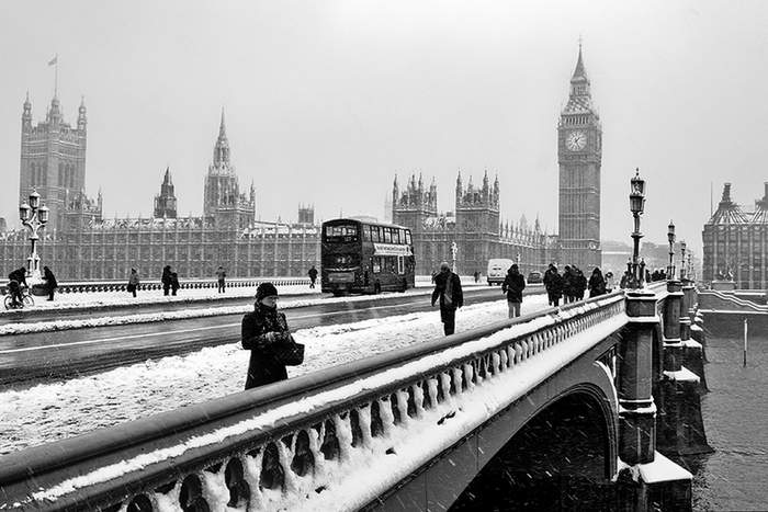 For Europe in Winter, you can't beat London