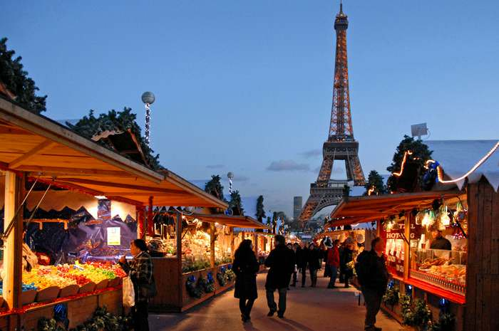 For a special winter in Europe, go to Paris