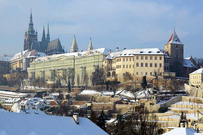 FOr a fascinating winter in Europe, visit Prague
