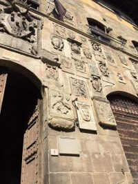 Renaissance coats of arms can be seen on major buildings in Arezzo