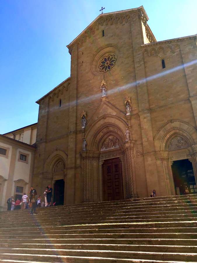 The cathedral of Arezzo, is dedicated to St. Donato