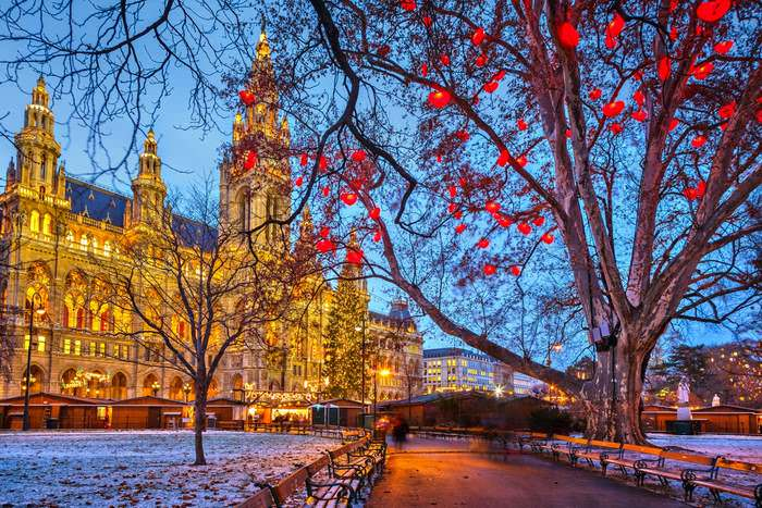 Vienna, a star of Europe in winter