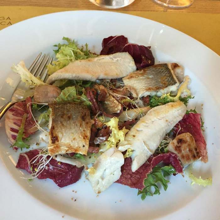 insalata di pesci del lago d'Iseo, typical Brescia food