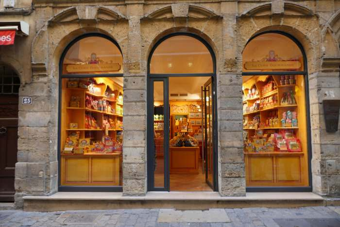 confectionary store in Vieux Lyon