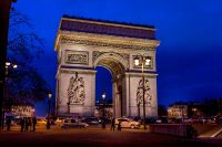 L'Arc de Triomphe - Luxury Vacation Ideas in France