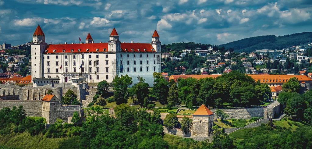 Cycling the danube from Passau to Bratislava