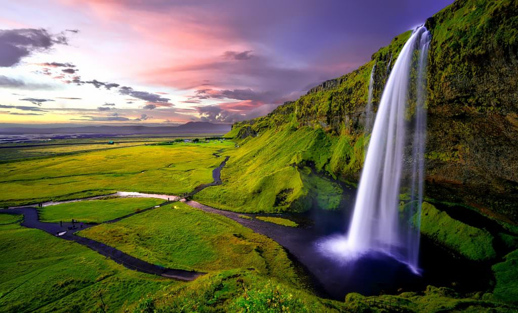 Seljalandsfoss Waterfall in Iceland - Photos of Iceland