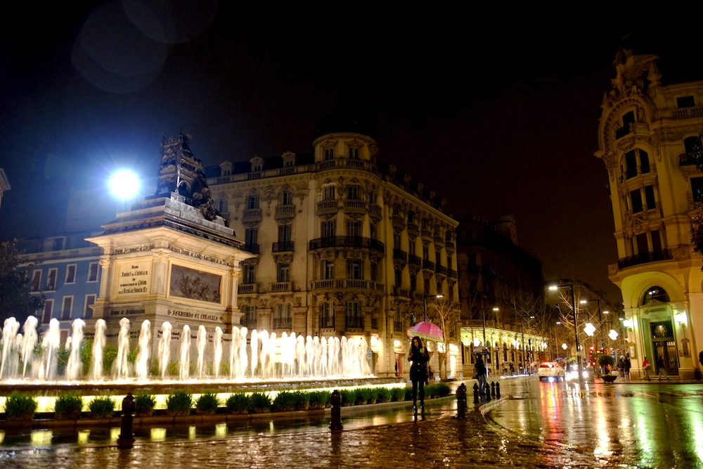 Granada at night - Best Tapas Bars in Granada Spain