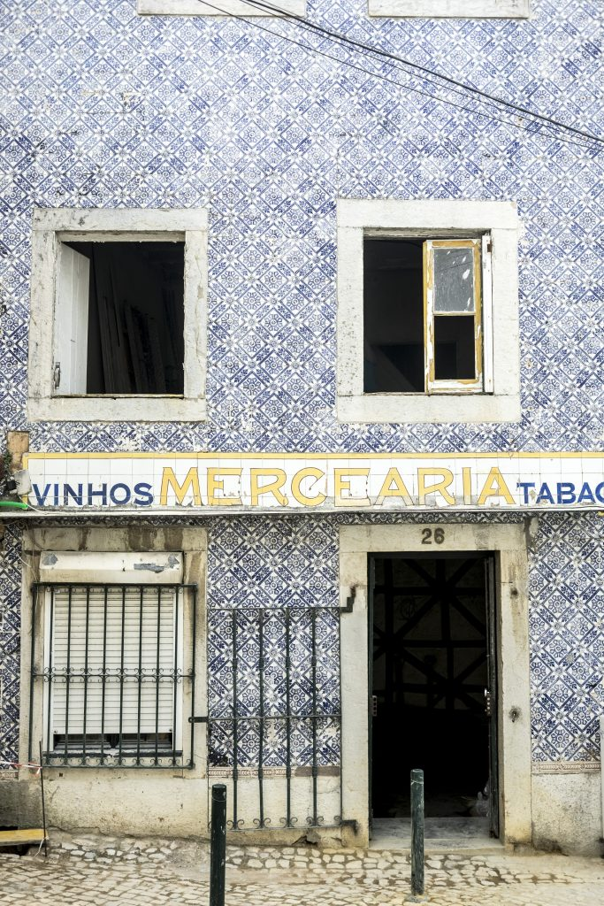 Not just in Lisbon: Stunning Tile Houses in Cascais Portugal