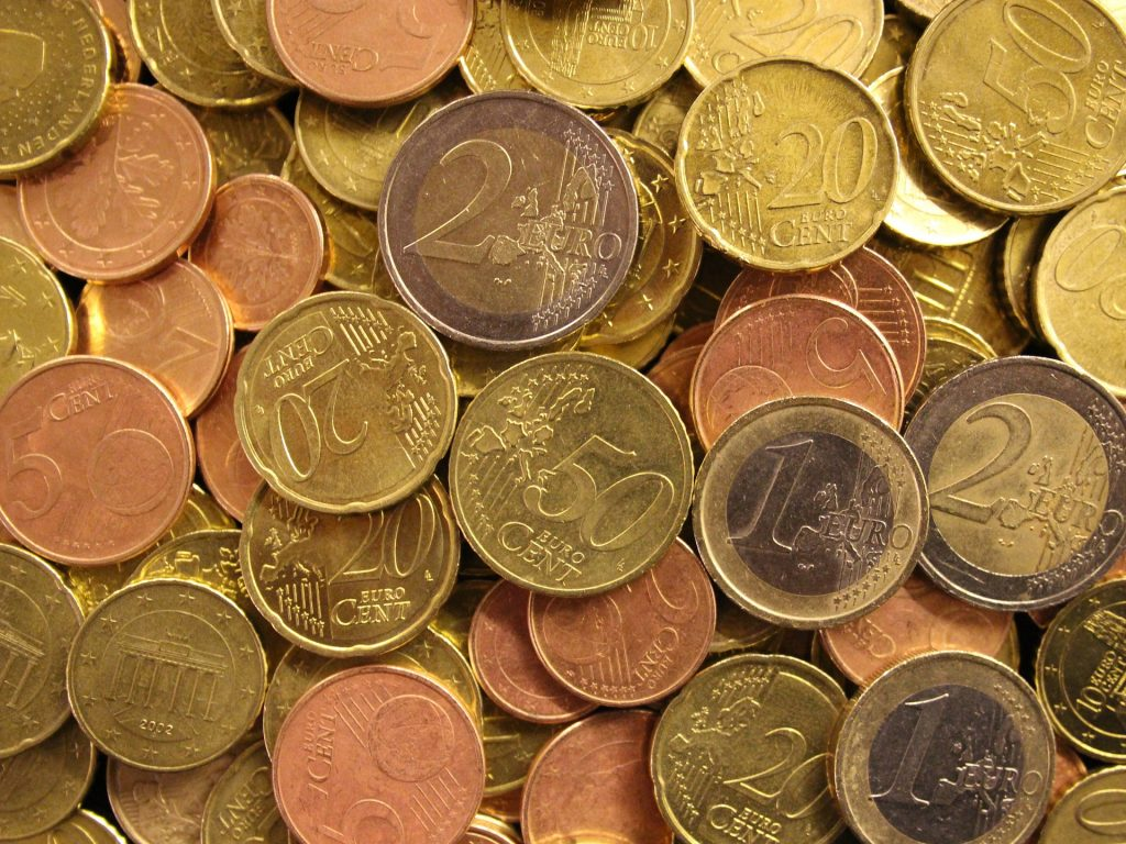 Euro Coins - Europe Currencies - How to get Money in Europe