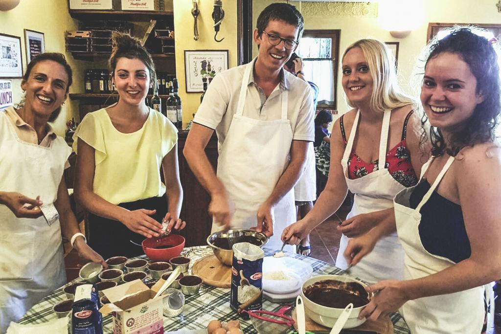 Italian Cooking Class at Sovestro in Poggio - Winery in Tuscany Italy
