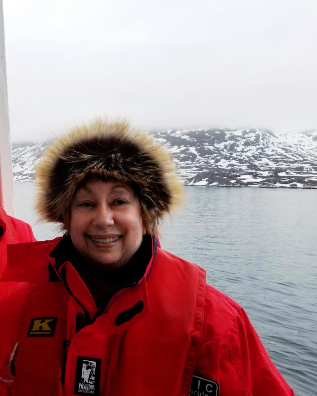 Arctic Cruise: Author and polar explorer Karin Leperi