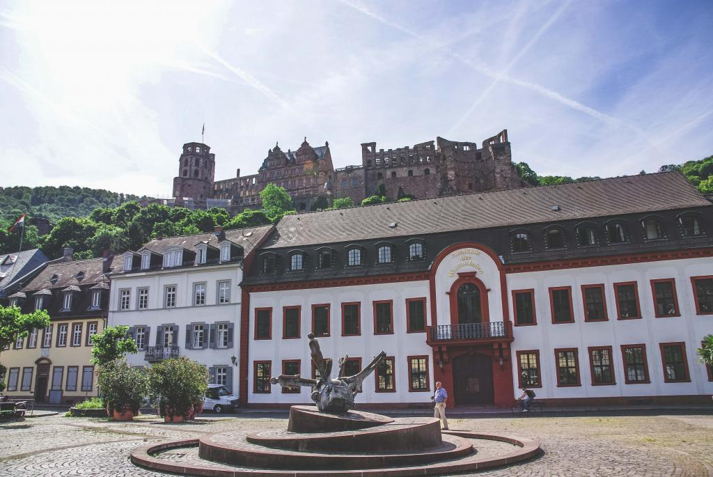 1 week itinerary Germany - Heidelberg Castle - Heidelberg Schloss