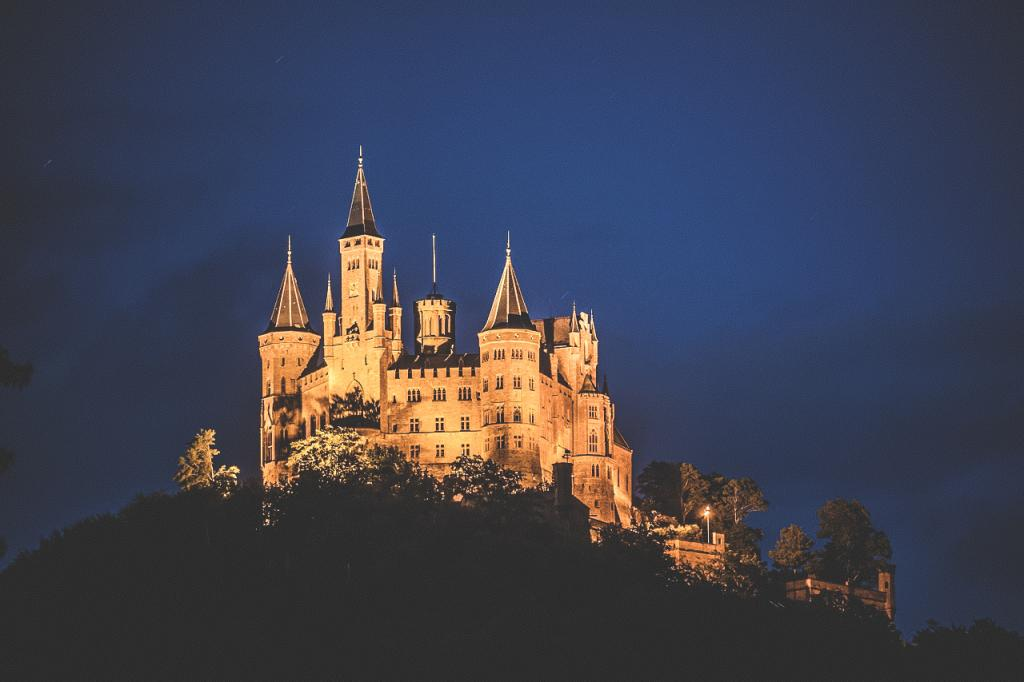 1 week itinerary Germany - Hohenzollern Castle