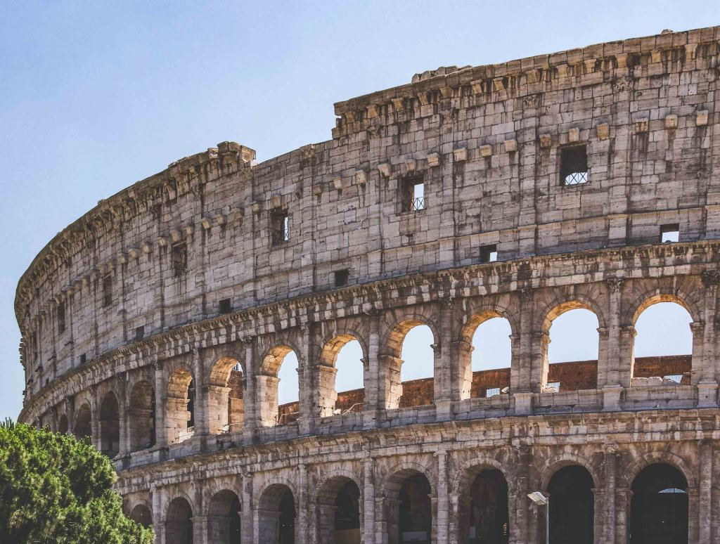 7 Days in Italy: Rome Colloseum and Forum Romanum