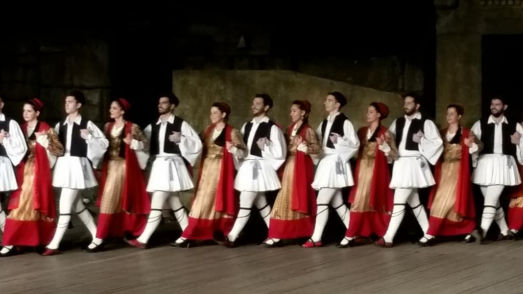 Dora Stratou Dancers - Traditional Music and Dance Performance in Athens, Greece