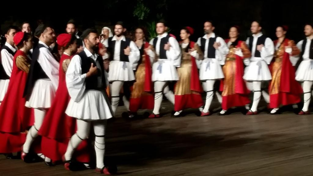 Dora Stratou Dancers - Traditional Music and Dance Performance in Athens Greece