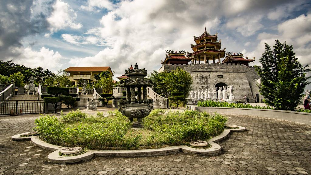 Buddhist Temples in Tanjung Pinang Riau Islands Indonesia - 500 Lohan Temple