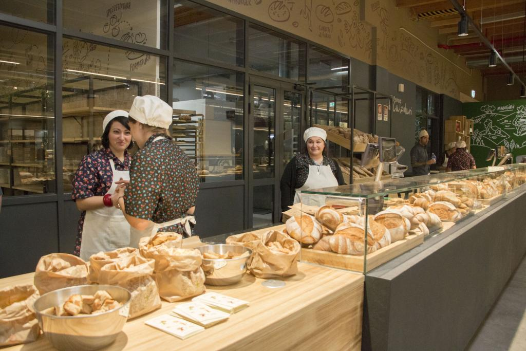Fresh Bread at FICO Eataly World Italy