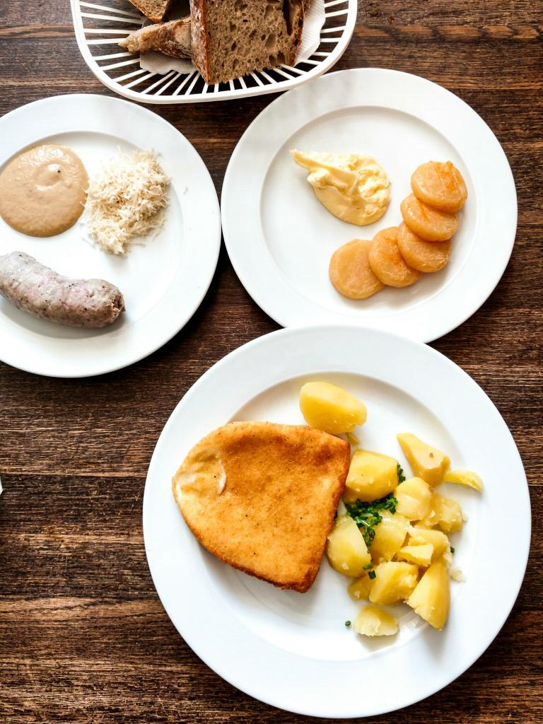 Fried Cheese is typical Czech Food and so delicious! Visit Czech Republic in the Fall