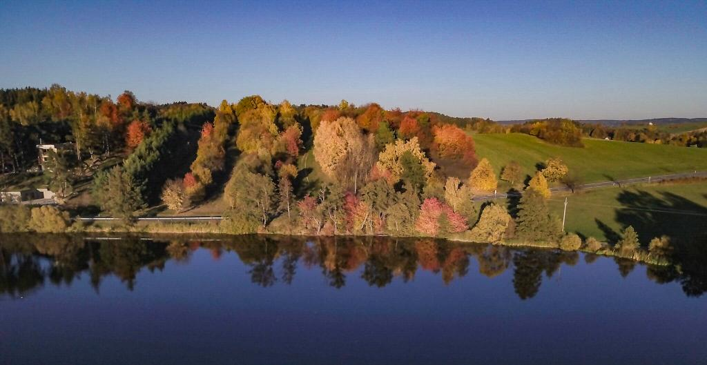 Drone Fall Foliage - Why Fall is the Best Time time to visit Czech Republic