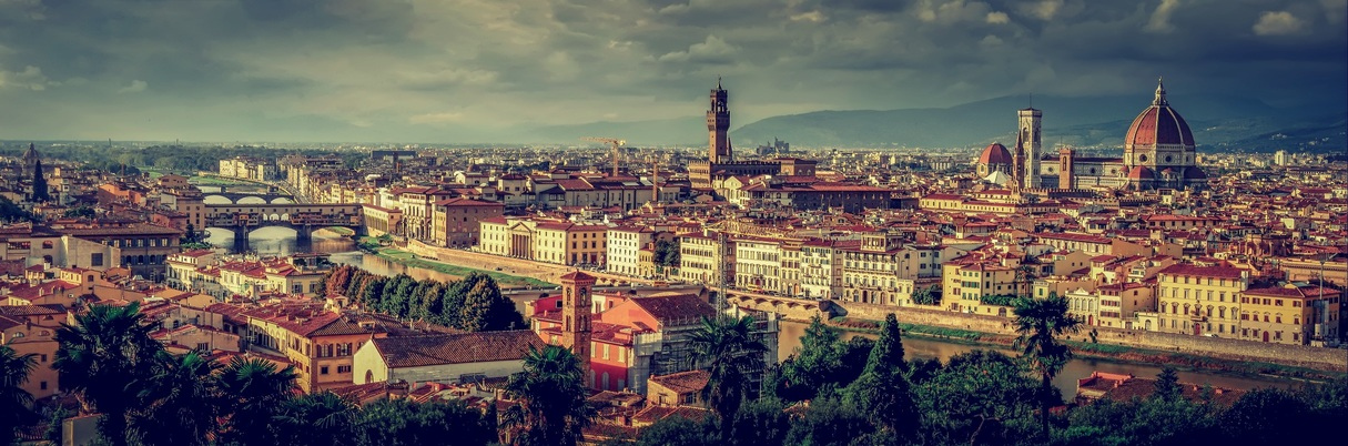 View over Florence, Italy - European Tour Packages