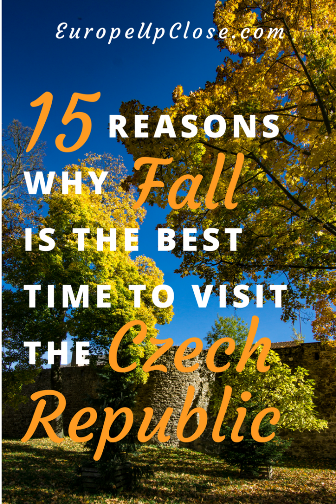 15 Reasons why Fall is the best time to visit the Czech Republic - Plan your trip to Prague and the rest of the Czech Republic in the Fall!