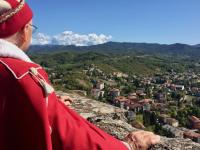 View from Forte Di Gavi - Things to do in Serravalle other than shopping at the outlet
