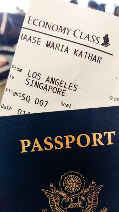 Los Angeles-Singapore with Singapore Airlines Review