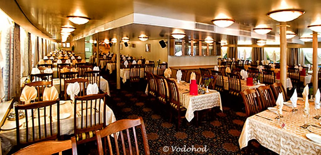 Russian River Cruise from Moscow to St Petersburg - Main dining room (©Vodohod)