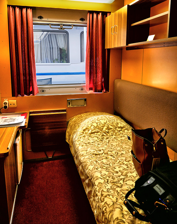 Russian River Cruise from Moscow to St Petersburg - My single cabin on the ship