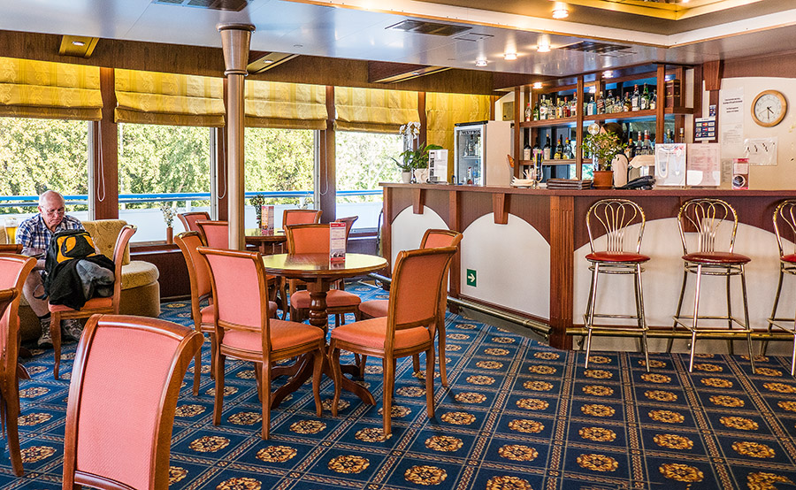 Russian River Cruise from Moscow to St Petersburg - The Bar on the Ship