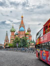 Russian River Cruise from Moscow to St Petersburg - Red Square Moscow - St Basil's Cathedral