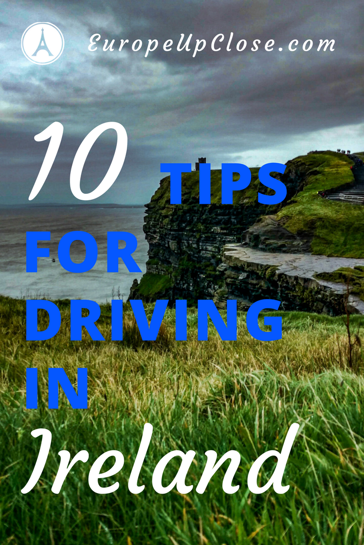 10 Tips for Driving in Ireland - Tips for Driving on the left - Ireland Rental Car - Rent a Car in Ireland - Ireland Rental Car