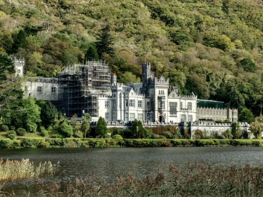 Kylemore Abbey in Connemara - Driving in Ireland - Tips for Driving in Ireland - Ireland Road Trip Tips