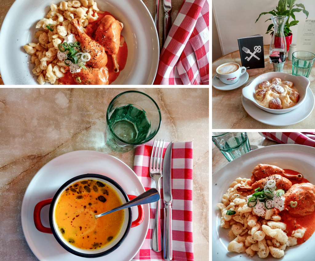 Authentic Hungarian Food: Pumpkin Soup, Paprika Chicken, Sweet Dumplings - Where to eat in Budapest Hungary