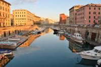 Livorno Italy - Port and Fishing Village in Tuscany
